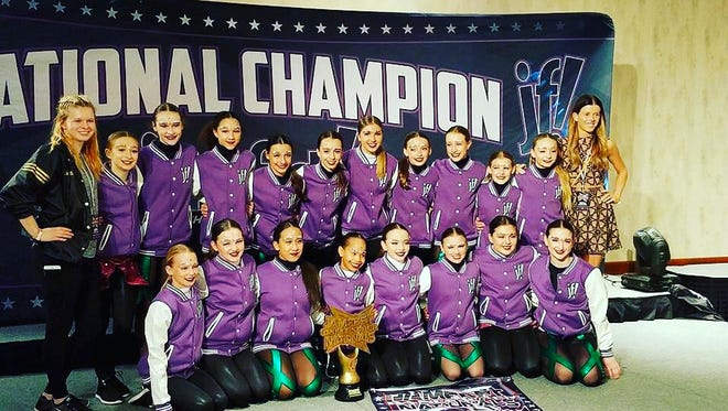 Two Dollhouse Dance Factory teams took home national championship wins at JamFest this month.