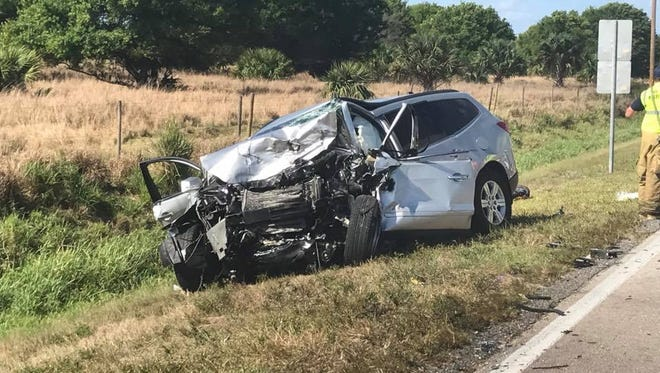 Two people killed in crash on Midway Road in St. Lucie County.