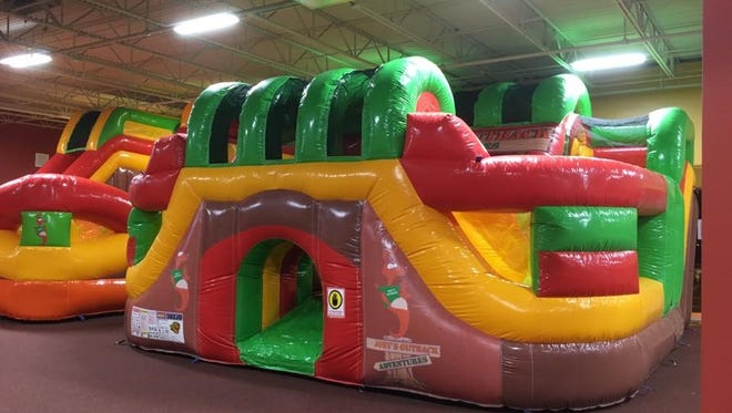Joey's Outback Adventures in Jensen Beach has 13,000 square feet of play space and four private party rooms. The business is owned by two families with a passion for working with children.