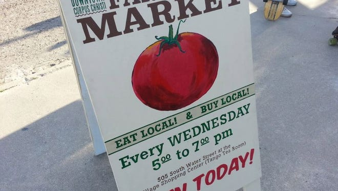 Corpus Christi Downtown Farmers Market.