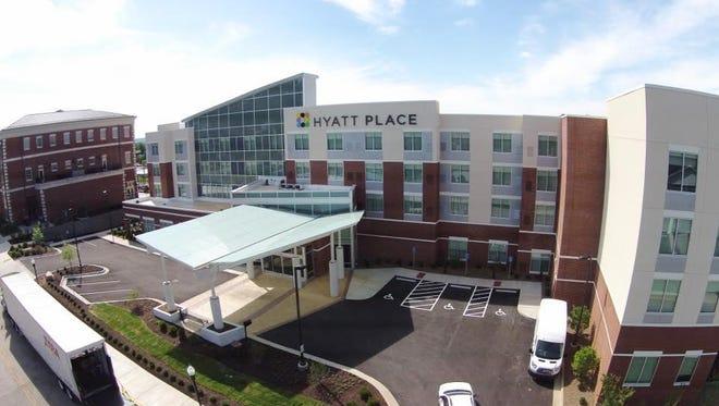 Hyatt Place in Bowling Green, Kentucky. The Evansville Hyatt Place anticipates a fall 2018 opening.