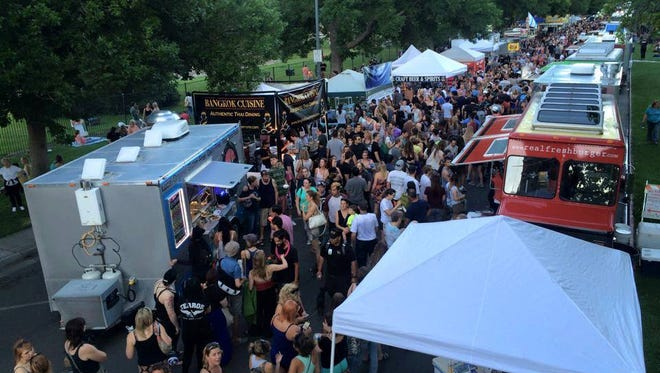 Food Truck Friday/Reno Street Food, the city's largest food truck gathering, returns May 19 to Idlewild Park for its 2017 season. About 35 food trucks will be featured weekly, organizers said.