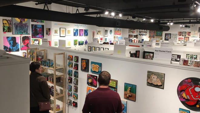 ZaPow Art Gallery's new space at 150 Coxe Ave., Suite 101, is larger than its previous downtown space. A grand re-opening celebration is set for June 3.