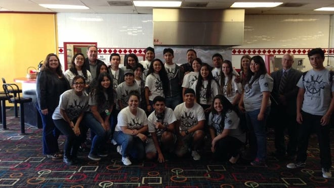 The 3rd Youth Leadership Academy at the bowling alley, on July 1, 2016.