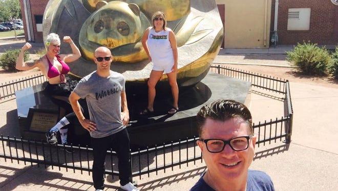 Jesse Ferrell, Wynn Burton, Anastasia Kritikos and Dana Martinez Parker journeyed to southern Arizona in the Racing Arizona Live competition June 3, 2017.