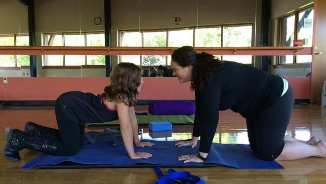 Christina Matt Prince has been teaching yoga since 2008 in the Florida Keys, and Ecuador and now at the YMCA.