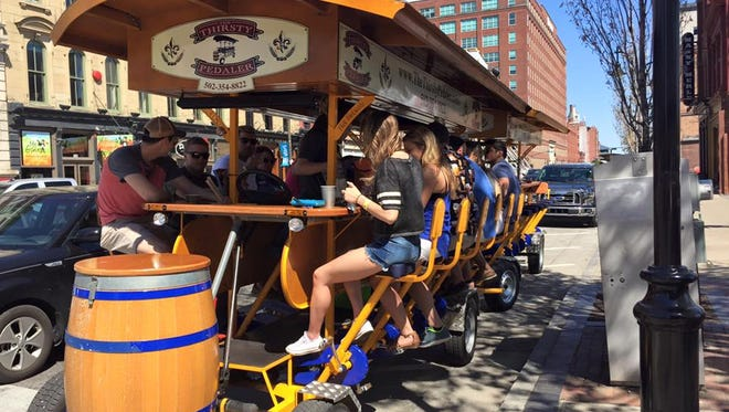 Win a trip on the Thirsty Pedaler