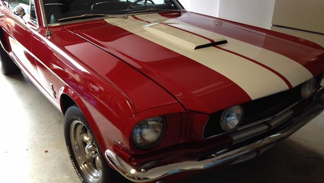 Dave Marsland's 1966 Ford Mustang before it was stolen.