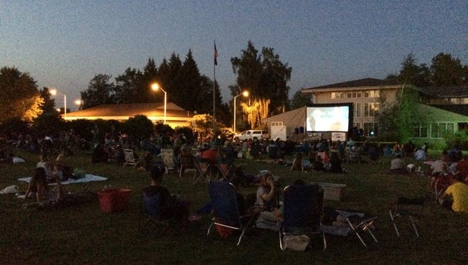 The Stayton Free Movies in the Park series will begin on Saturday, July 15.