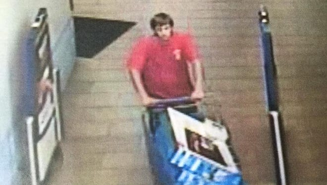 The Ashland City Police Department are looking for these two men, accused of stealing merchandise from Walmart.