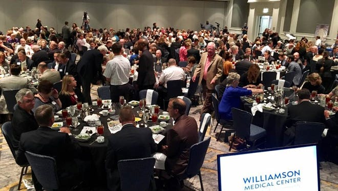 Attendees at the 2017 Williamson State of the County Address at the Franklin Marriott Cool Springs.