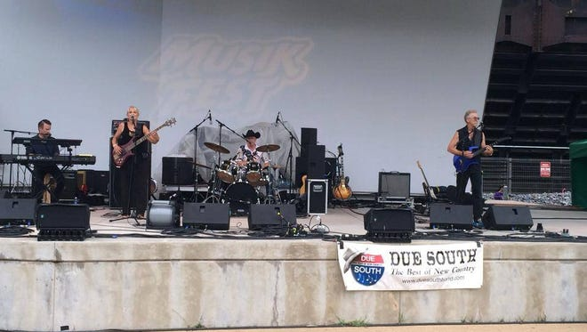 Due South performs at Musikfest 2014 in Bethlehem, Pa.
