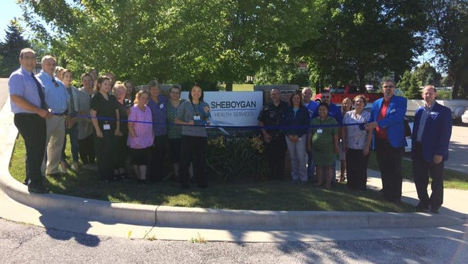 Sheboygan Health Services held a ribbon cutting on July 24 to mark its transition from Golden LivingCenter.