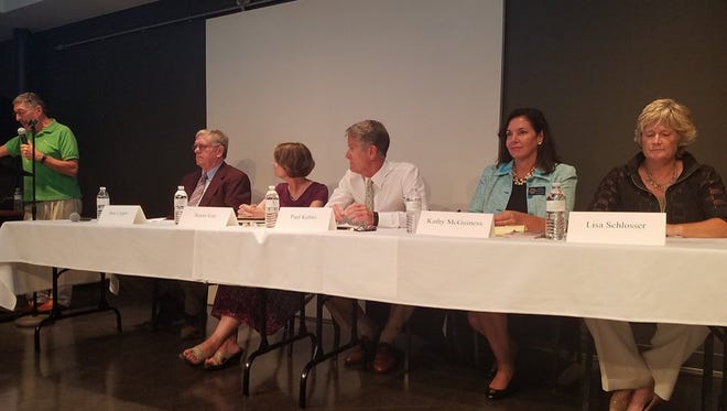 Rehoboth Beach held its first candidates forum for the 2017 election at CAMP Rehoboth on July 28. All running for office were at the forum.