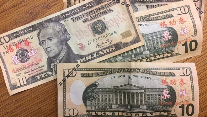 Counterfeit bills have been discovered at businesses in downtown Kingman, police said.