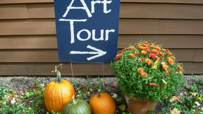 The Hidden Studios Art Tour will be held Oct. 6-8, 2017.