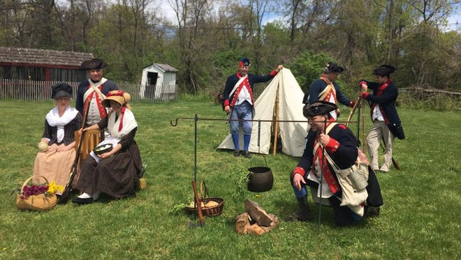 A Revolutionary War Encampment will be held from 10 a.m. to 4 p.m. Saturday, Oct. 7 and Sunday, Oct. 8. at East Jersey Old Town Village in Piscataway.