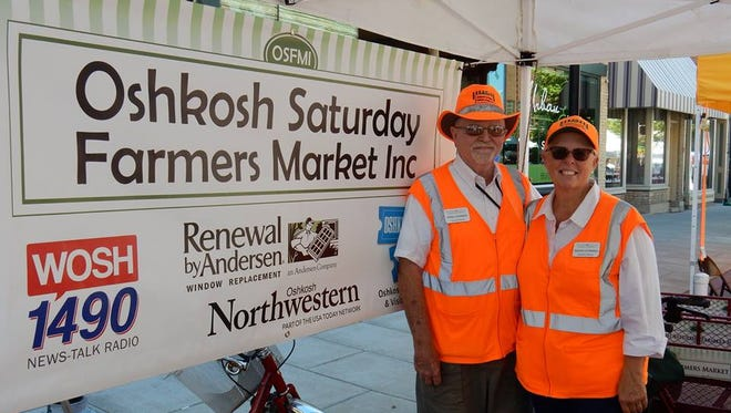 Dennis and Karlene Leatherman are retiring from the helm of Oshkosh Saturday Farmers Market Inc.
