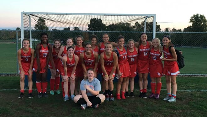 The Annville-Cleona field hockey team celebrated its second straight Lancaster-Lebanon Section 3 title with a 1-0 overtime win over Northern Lebanon.