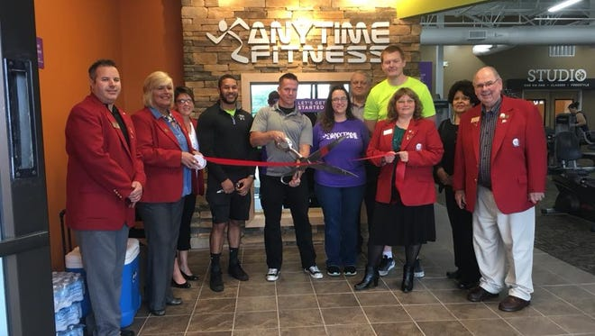 The Sandusky County Chamber of Commerce hosted a grand opening ribbon cutting for Anytime Fitness in Fremont on Saturday.