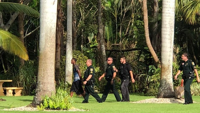 Three Boynton Beach teens were charged in connection with a violent carjacking after a seven-hour manhunt in Martin County Oct. 15, 2017.