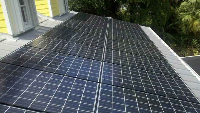 Through the SunSavers program, St. Lucie County property owners can buy or finance solar PV panels at about 30-40% lower costs than the current average price in Florida.