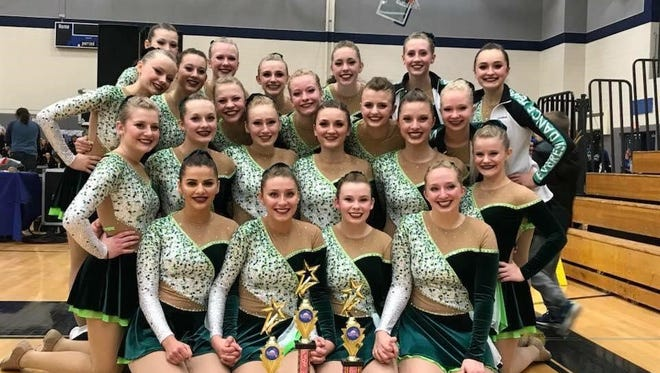 The D.C. Everest varsity dance team secured team, duet and solo honors at a competition in Watertown.