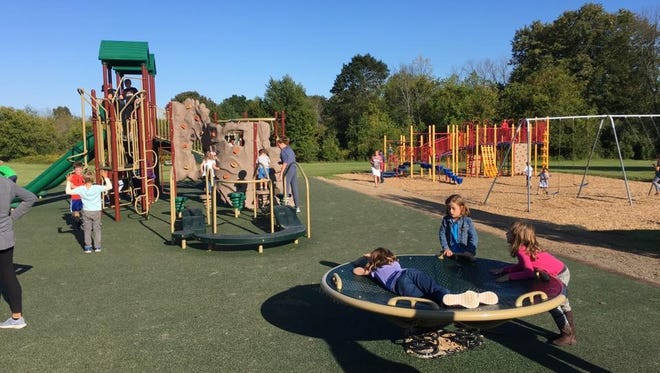 The Thorson Elementary School playground upgrades were completed in August 2017. Payments for the project were scheduled to be paid off in January.