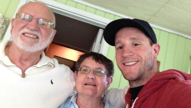 Carroll took this photo while visiting his former host family, Jerry and Ruth Menken, in Sioux Falls in 2016.
