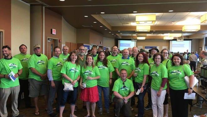 Members of the Salem Bridge Solutions community group.