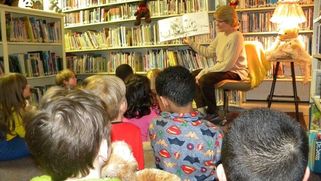 "Cumberland Christian School's kindergarten class enjoyed a ""Bear Night,"" which included listening to librarian Sherri Torrance share ""We're Going on a Bear Hunt."""