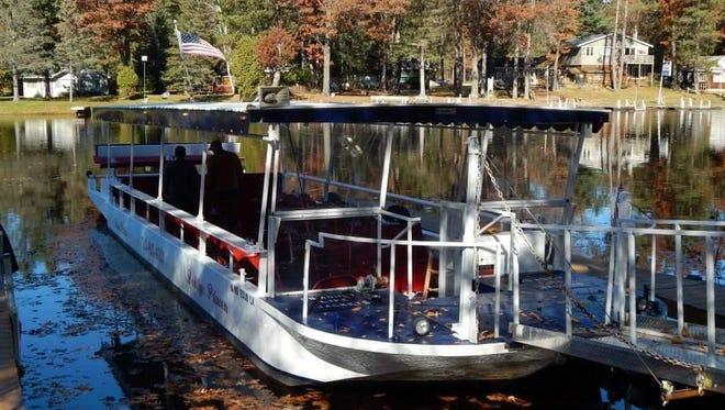 The former Peshtigo Princess will be rechristened River Tyme Too and get docked in Appleton.