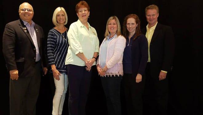 Marc Gingras Assistant Governor IRC; Elaine Jones Oceanside; Linda Scott Sunrise; Tara Stanley Orchid Island; Kimberly Jones Sebastian; Mike Kanuka Vero Beach 