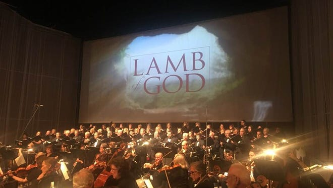 'Lamb of God' production, March 30, 2018