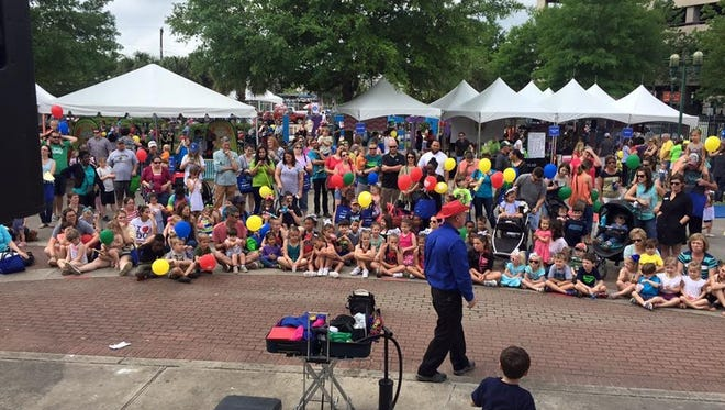 Mommy & Me KidsFest is April 21 in Parc Sans Souci in downtown Lafayette. It will feature live performances by local talent.