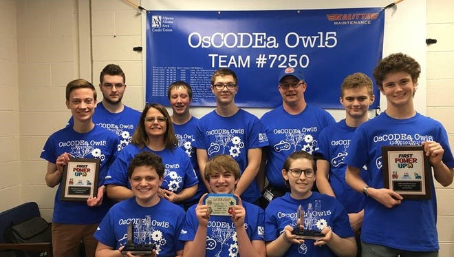 The rookie robotics team from Oscoda Area High School beat the odds to earn a trip to the 2018 FIRST Robotics World Championships.
