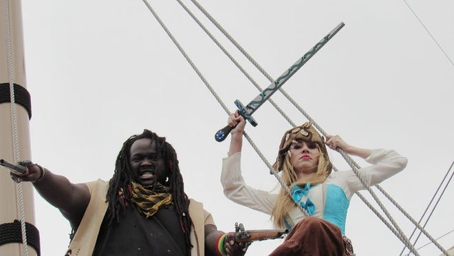 The Red Dragon Pirate Shenanigans will help reinvigorate the original pirate theme of the longstanding Buc Days event.
