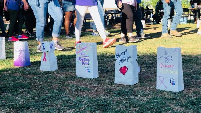 Relay for Life was held in Carlsbad, N.M. on May 4-5 at the Carlsbad Beach.