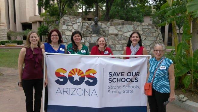 From left: Sharon Kirsch, Melinda Iyer, Beth Lewis, Alison Porter, Dawn Penich-Thacker, Cathy Sigmon