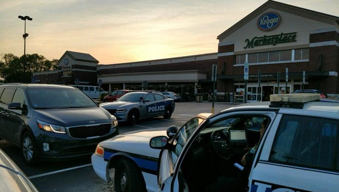 KPD responded to a child crying and sweating in a mini-van outside a West Knoxville Kroger on Saturday.