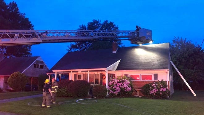 Firefighters responded to a call along the 1500 block of Wogan Road on Sunday, May 27. The fire was reportedly caused by an electrical malfunction.