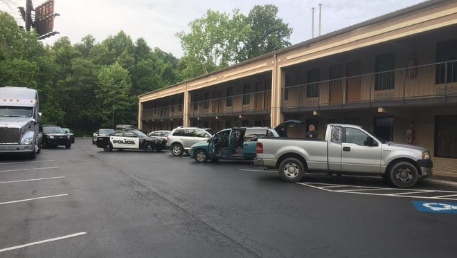 The Harriman Police Department seized approximately $10,000 worth of methamphetamine at the Days Inn at 120 Childs Rd. in Harriman.