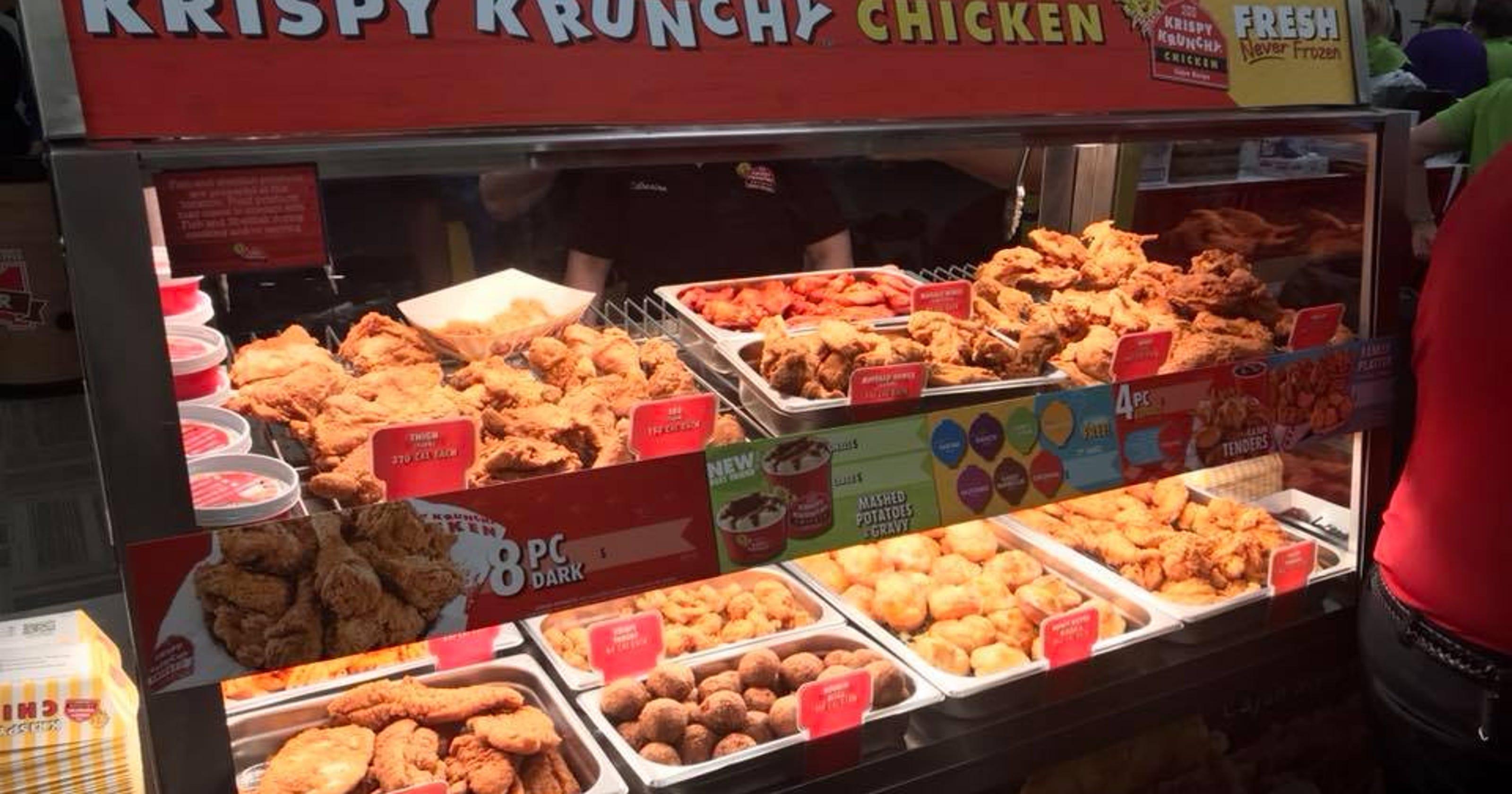 Krispy Krunchy Chicken wins taste buds one fill