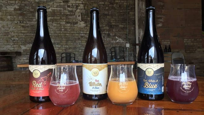 Third Space Brewing releases a trio of beers aged in barrels from Chardonnay to brandy.