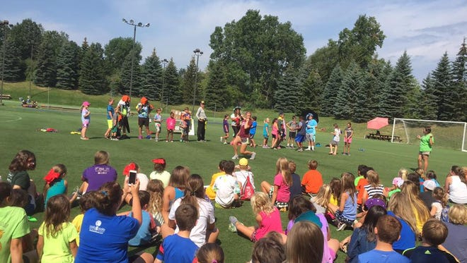 Oakland Yard Athletics in Waterford offers everything from dinosaur camp for kids to a Lego camp.