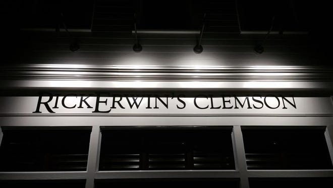 Rick Erwin Dining Group opens its newest restaurant in Clemson Oct. 21.