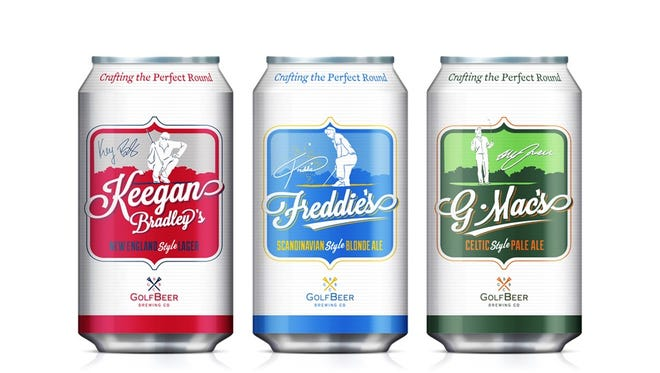 GolfBeer cans.