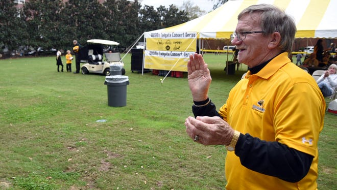 Leighton Miller of Hattiesburg says he has attended every Southern Miss home football game since 1975.