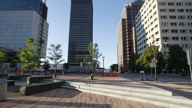 About $700 million in redevelopment is underway in downtown Rochester, including efforts at the former Midtown Plaza site.