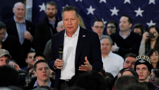Kasich says he is a conservative.